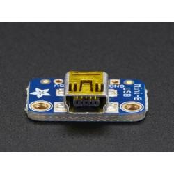 USB Mini-B Breakout Board