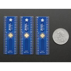 SMT Breakout PCB for 44-QFN or 44-TQFP - 3 Pack!
