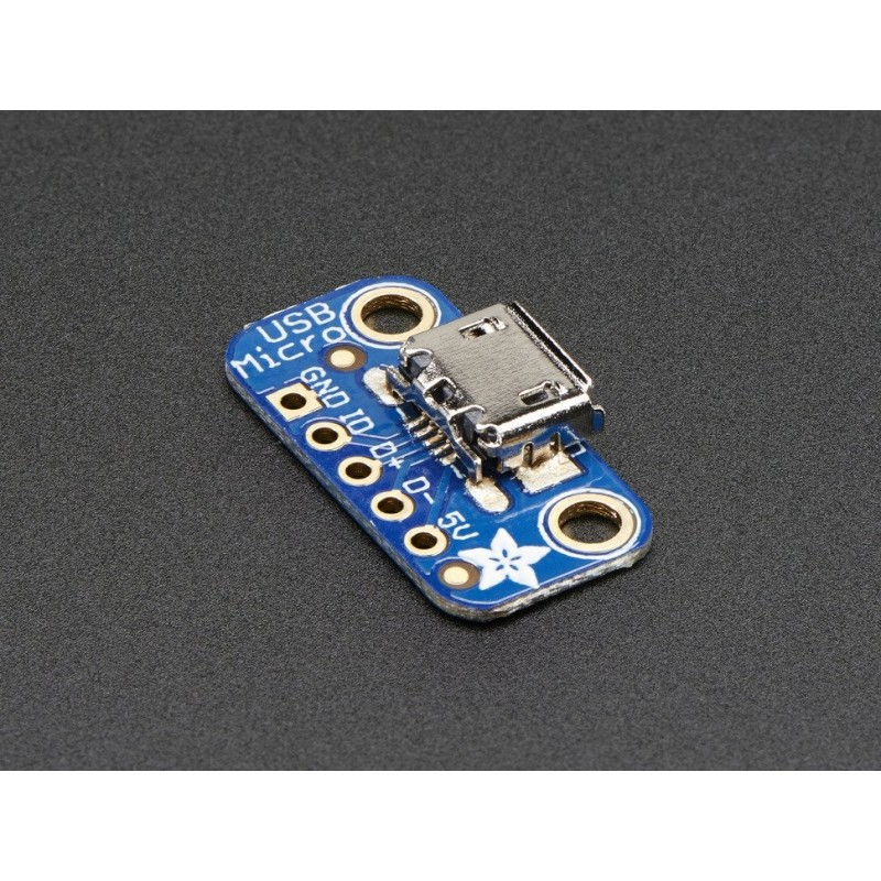 PCB adaptador USB Micro-B