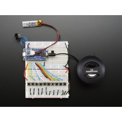 Adafruit Audio FX Sound trigger - Formato WAV/OGG c/ 2MB Flash