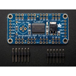 Driver para LEDs c/ 24 canais PWM 12bits - Interface SPI - Adafruit TLC5947