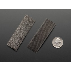 fita de Velcro condutora M/F - 7,6cm comprimento