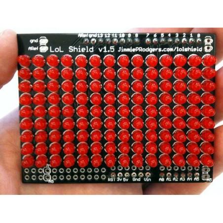 LoL Shield RED - Matriz de LEDs p/ Arduino