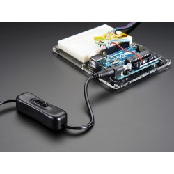 Interruptor com conectores jack 2.1mm
