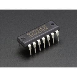 74AHCT125 - Conversor nível lógico (3V para 5V) - 4 canais