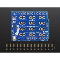 Shield 12 entradas capacitivas - Touch Shield MPR121
