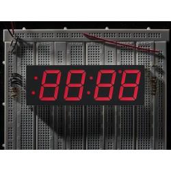 Relógio Display de 7 segmentos - 30mm de Altura