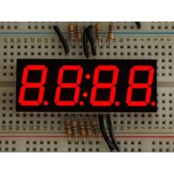 Relógio Display de 7 segmentos - 14mm de Altura