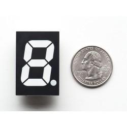 Display 7 segmentos RGB - 25,4mm de altura
