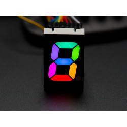 Display 7 segmentos RGB - 25,4mm de altura