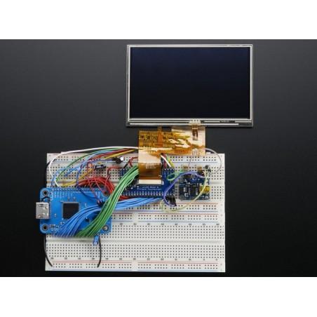 PCB ligação FPC 40 pinos com Driver p/ display backlight