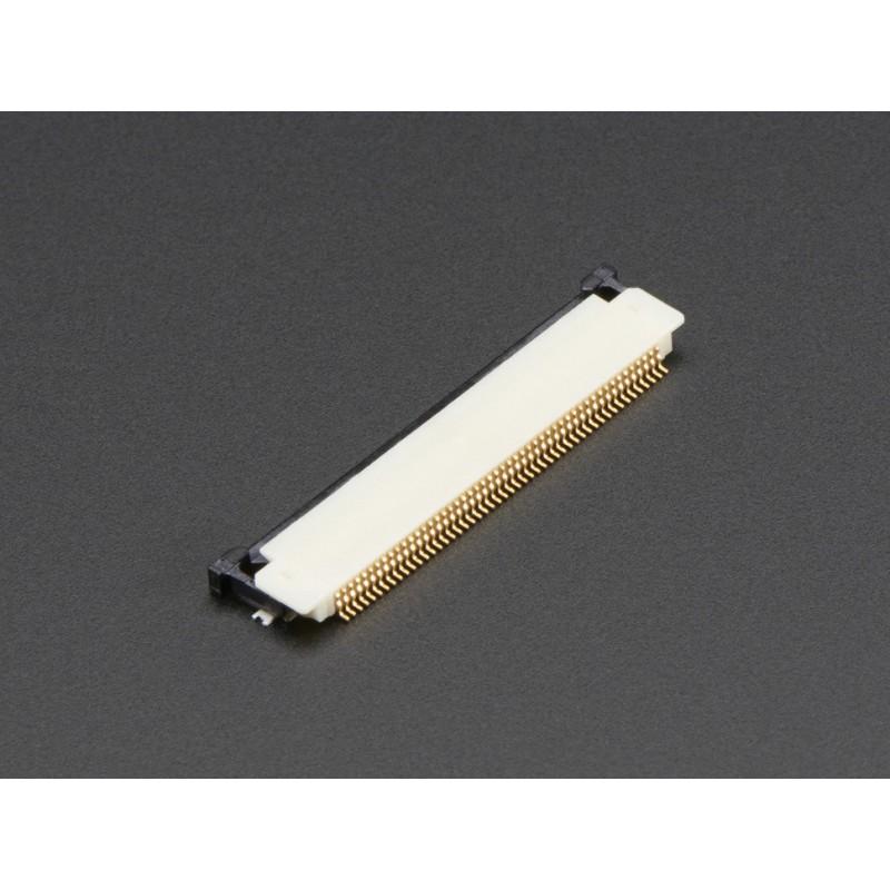Conector FPC SMT 50pinos 0.5pitch