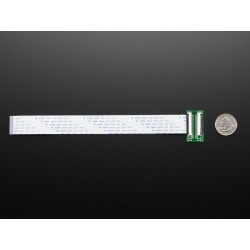 Extensão FPC 40 pinos - 20cm + PCB p/ ligação
