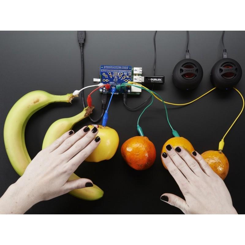 HAT Raspberry Pi p/ controlo capacitivo - Adafruit MPR121