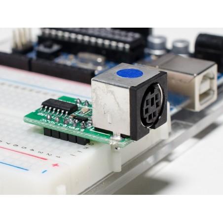 Conversor PS/2 para TTL serie - E1115