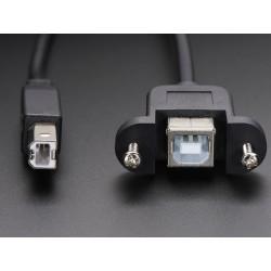 Cabo USB para painel - B Macho para B Femea