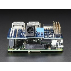 HAT Raspberry Pi p/ Servos c/ 16 canais PWM por i2c - Adafruit