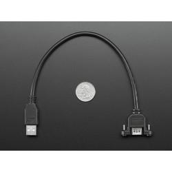 Cabo USB para painel - A Macho para A Femea