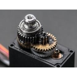 Micro Servo c/ feedback analógico e engrenagens metálicas