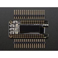 Display OLED 128x32 FeatherWing p/ Feather Boards