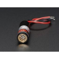 Emissor Laser Linha - 5mW 650nm Vermelho