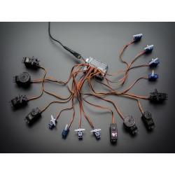 Shield 16 canais PWM 12bits para servos por i2c