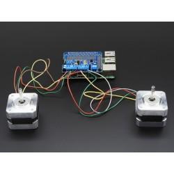 Driver p/ motores DC e Passo a Passo p/ Raspberry Pi - Adafruit