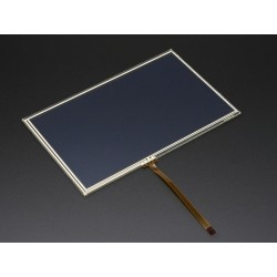 Vidro tátil para displays 7'' - 165mm x 105mm - 4 fios resistivo