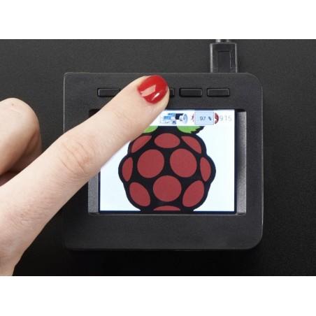 Armação para display 2.4'' p/ PiTFT HAT - Raspberry Pi A+ c/5 botões