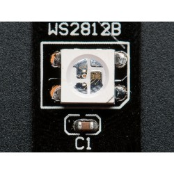 NeoPixel - Fita de LEDs RGB - 30 LEDs fundo preto