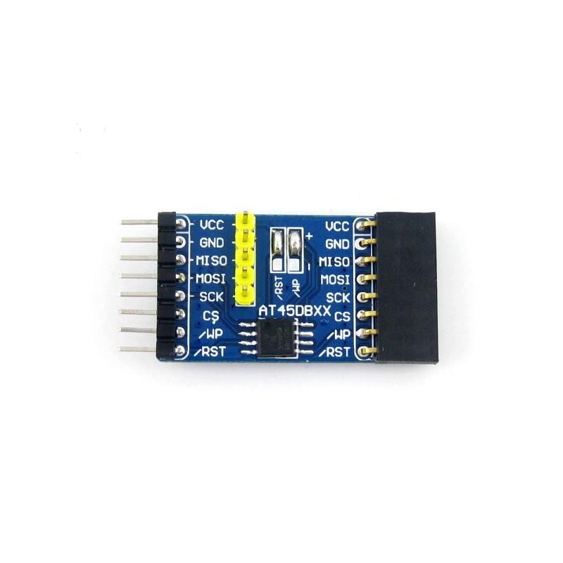 Módulo para Memória Flash por SPI do tipo AT45DBXX