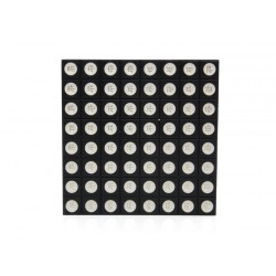 Matriz de LEDs RGB 8x8 com 60mm - LED204A5B