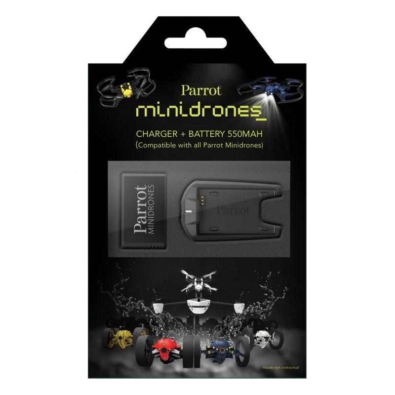 Pack bateria e carregador Minidrones