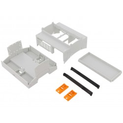 Enclosure for Raspberry Pi A+, B+, 2, 3 - light grey