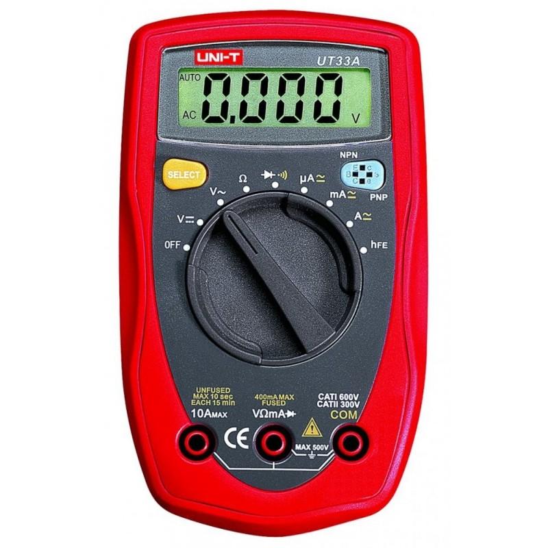 Multimetro Mini Digital Automático - UNI-T