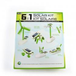 Kit solar educacional 6 em 1