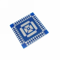 PCB adaptador para chips QFN / QFP / TQFP / LQFP 16-80 pinos