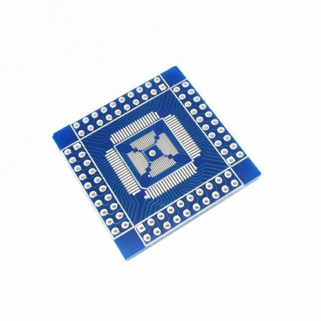 QFN / QFP / TQFP / LQFP 16-80 to DIP Adapter/Breakout Board