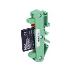 Relé Estado Sólido 4A, 3÷60VDC, Ucntrl:3÷32VDC p/ Calha DIN