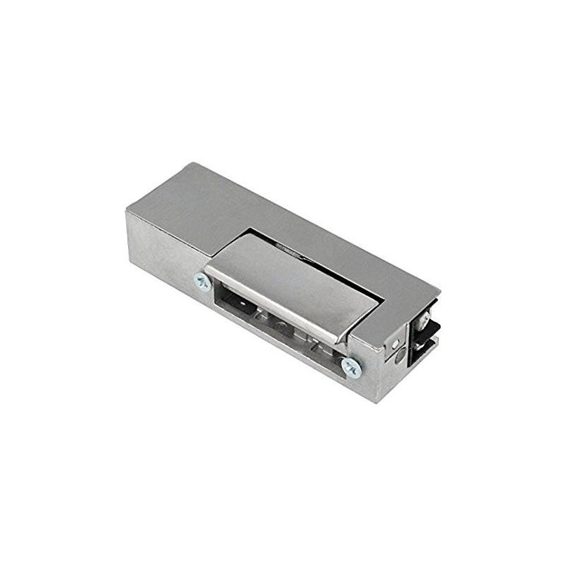 Electromagnetic lock, 7÷14VDC, V: without adjustable hook