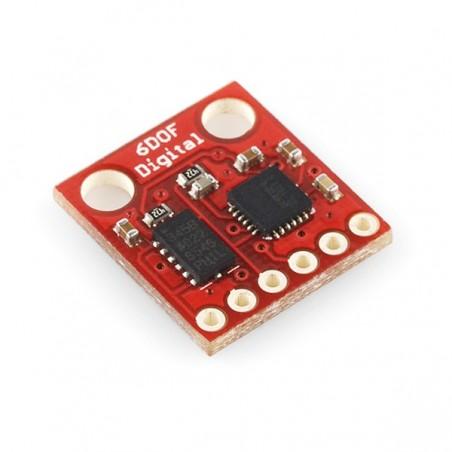 IMU 6 graus de liberdade - ITG3200/ADXL345
