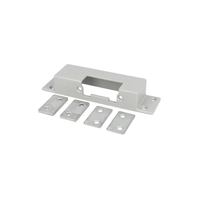 Frontal plate, Mat: steel, for electromagnetic lock