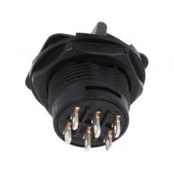 Interruptor toggle com alavanca ON-ON - Ø18mm