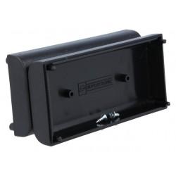 Caixa para electrónica - X:40mm Y:84mm Z:24mm - ABS preto