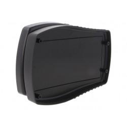 Caixa para electrónica portátil - X:112mm Y:170mm Z:35mm - ABS preto