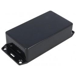 Caixa c/ abas para electrónica - X:62mm Y:112mm Z:31mm - ABS preto