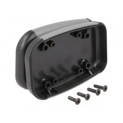 Caixa HAMMOND portátil para electrónica - X:50mm Y:75mm Z:17mm - ABS