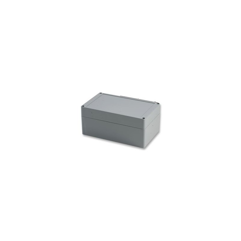 Caixa para electrónica - X:120mm Y:200mm Z:90mm - ABS - cinza escuro