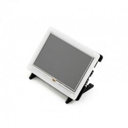 Ecrã tátil resistivo 5'' HDMI LCD 800x480 + Moldura