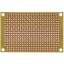 Universal Board single sided for prototyping 47x72mm